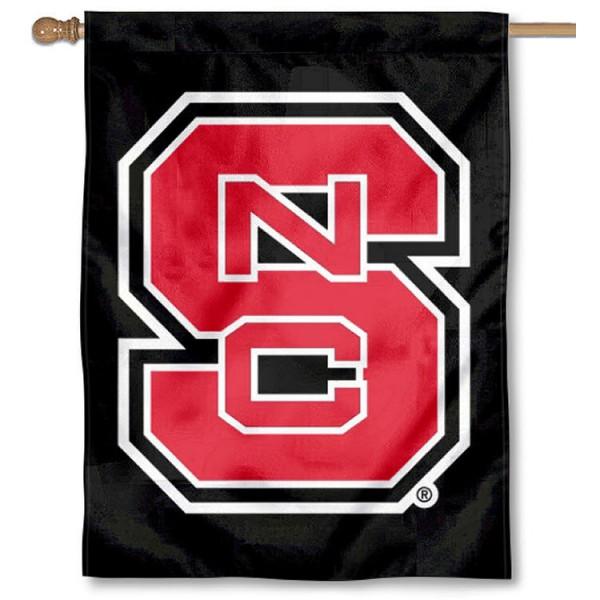 North Carolina State Wolfpack House Flag