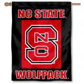 North Carolina State Wolfpack House Flag