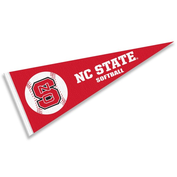 North Carolina State Wolfpack Softball Pennant