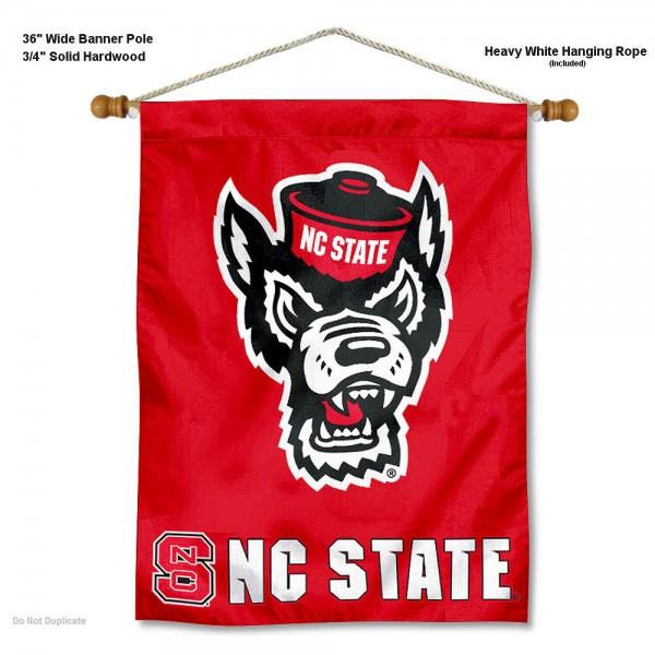North Carolina State Wolfpack Wall Hanging