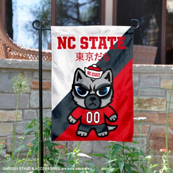 North Carolina State Wolfpack Yuru Chara Tokyo Dachi Garden Flag