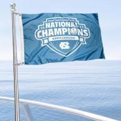 North Carolina Tar Heels 2017 National Champions Boat Flag