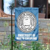 North Carolina Tar Heels Academic Logo Garden Banner