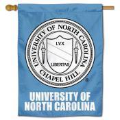 North Carolina Tar Heels Crest House Flag