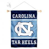 North Carolina Tar Heels Window Hanging Banner with Suction Cup