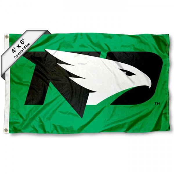 North Dakota Fighting Hawks 4'x6' Flag