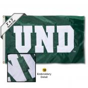 North Dakota Fighting Hawks Embroidered 2x3 Foot Flag