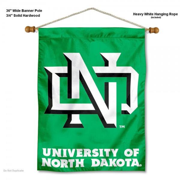 North Dakota Fighting Hawks Wall Hanging