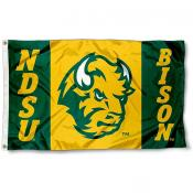 North Dakota State Bison Flag