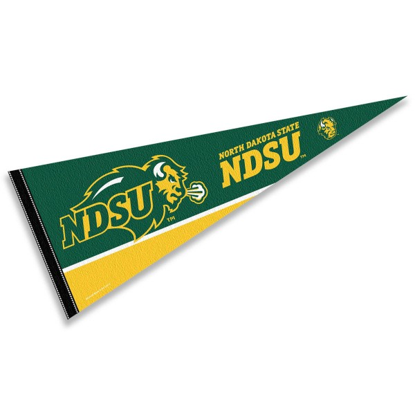 North Dakota State Bison Pennant