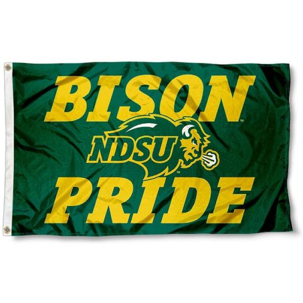 North Dakota State Bison Pride Flag
