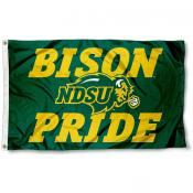 North Dakota State Bison Pride Flag