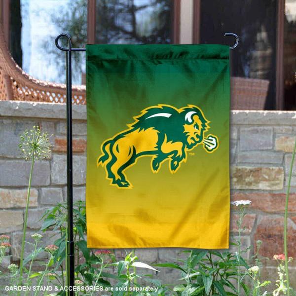 North Dakota State Bison Two Tone Garden Banner