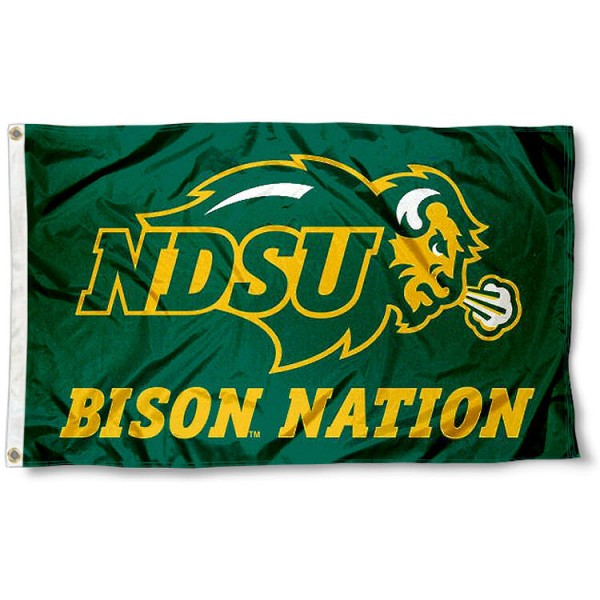 North Dakota State Nation Flag