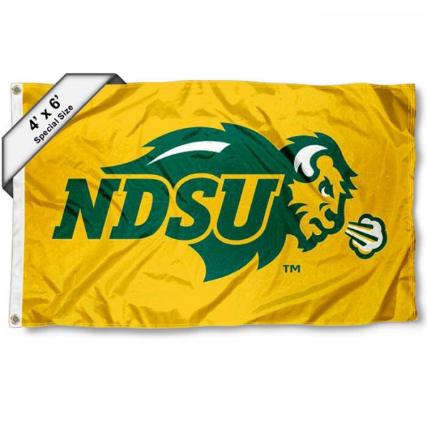 North Dakota State University 4'x6' Flag