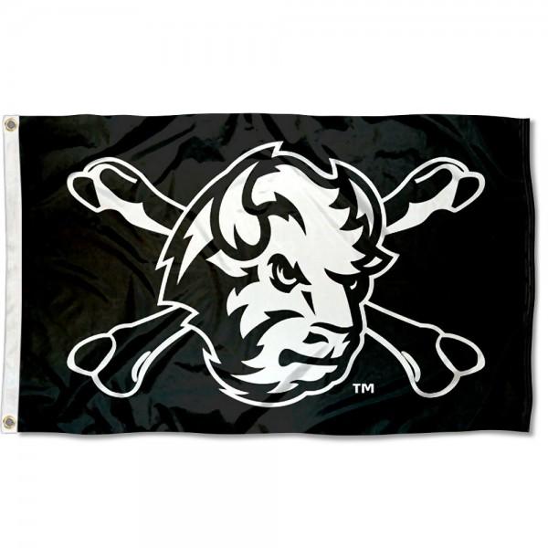 North Dakota State University Cross Bone Flag