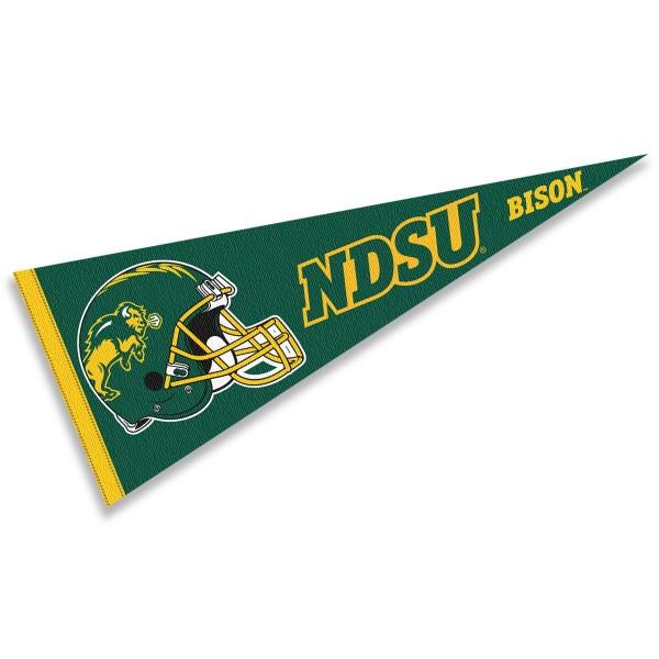 North Dakota State University Football Helmet Pennant