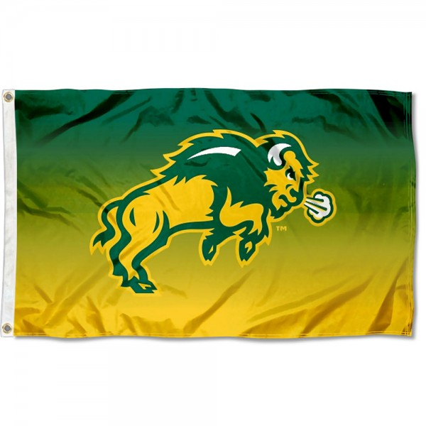 North Dakota State University Two Tone Color Flag