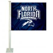 North Florida Ospreys Car Flag