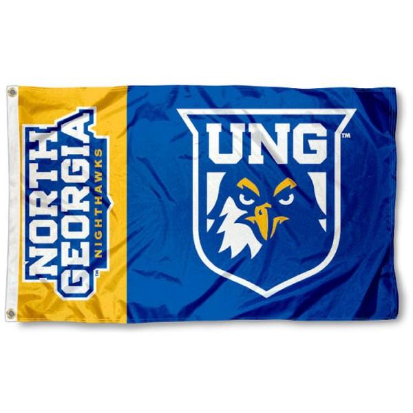 North Georgia Nighthawks Logo Flag