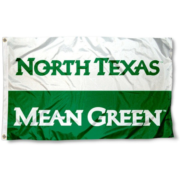 North Texas Mean Green Flag