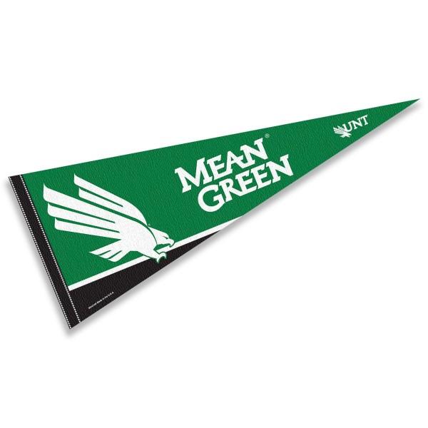 North Texas Mean Green Pennant