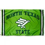 North Texas Mean Green Retro Vintage 3x5 Feet Banner Flag