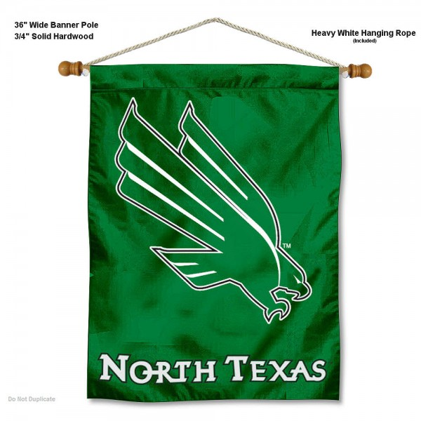 North Texas Mean Green Wall Hanging