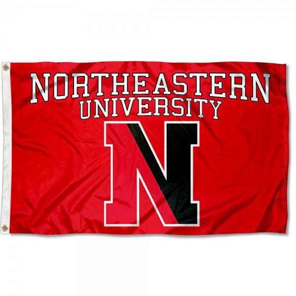 Northeastern Huskies Flag