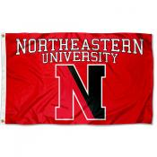 Northeastern Huskies Flag