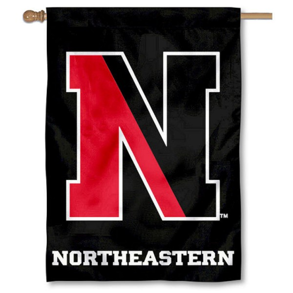 Northeastern Huskies House Flag