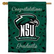 Northeastern State Riverhawks Graduation Banner
