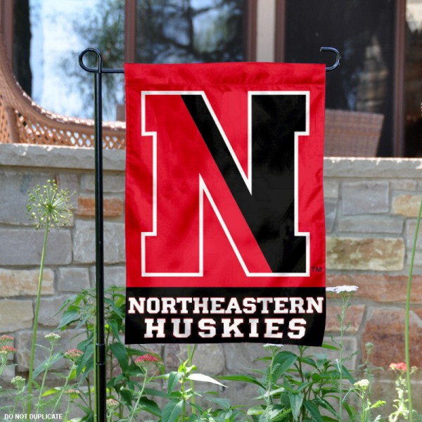 Northeastern University Garden Flag