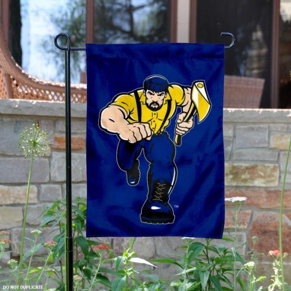 Northern Arizona Louie Mascot Garden Flag