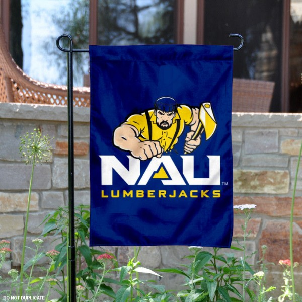 Northern Arizona Lumberjacks Garden Flag
