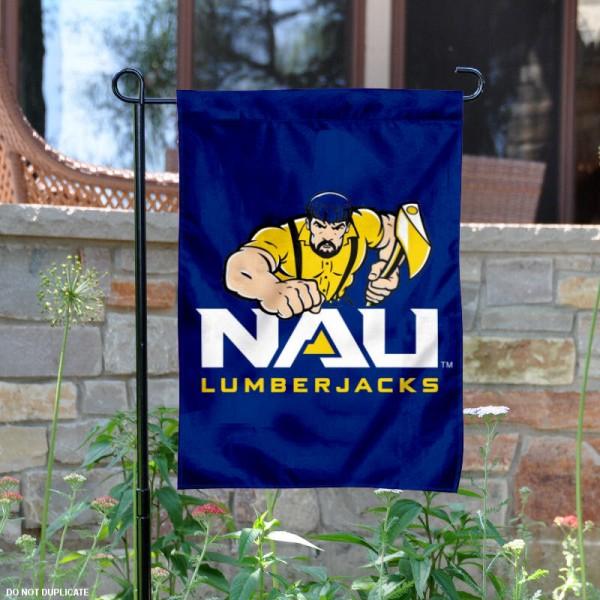 Northern Arizona Lumberjacks Garden Flag