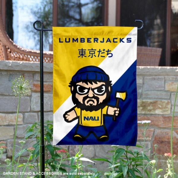 Northern Arizona Lumberjacks Yuru Chara Tokyo Dachi Garden Flag