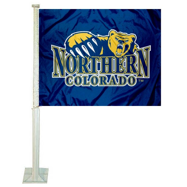 Northern Colorado Bears Car Flag