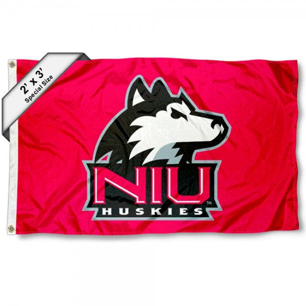 Northern Illinois Huskies 2x3 Flag