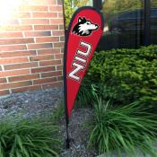 Northern Illinois Huskies Mini Teardrop Garden Flag