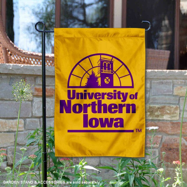 Northern Iowa Panthers Double Sided Garden Flag