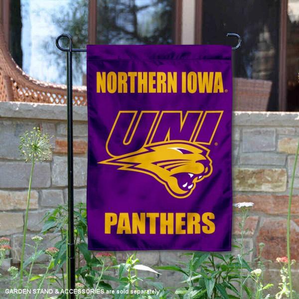 Northern Iowa Panthers Garden Flag