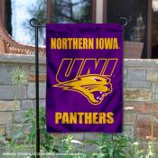 Northern Iowa Panthers Garden Flag