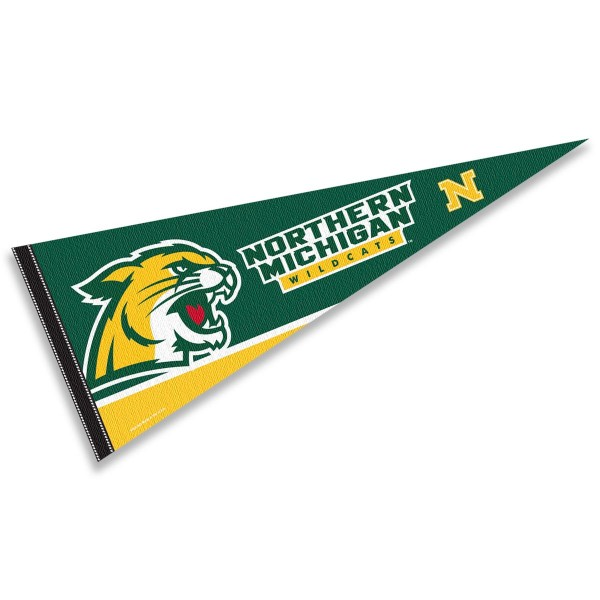 Northern Michigan NMU Wildcats Pennant