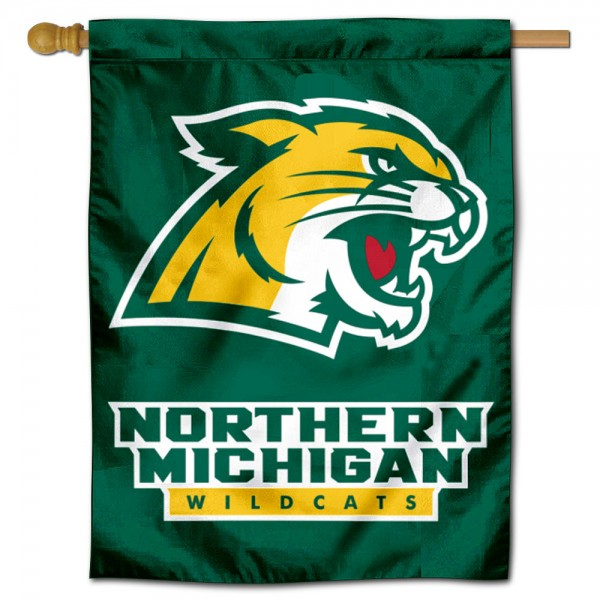 Northern Michigan University House Flag
