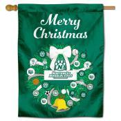 Northwest Missouri State Bearcats Christmas Holiday House Flag