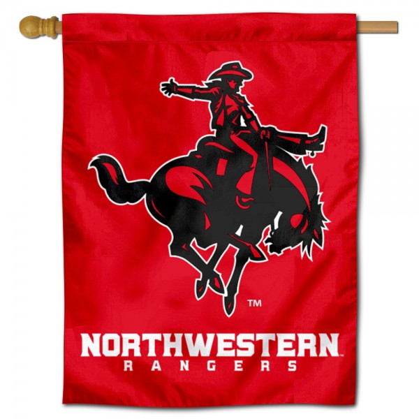 Northwestern Oklahoma State University House Flag