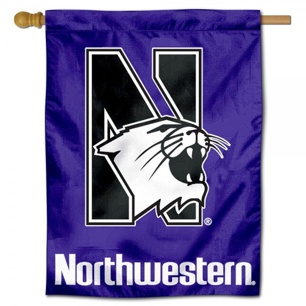 Northwestern Polyester House Flag