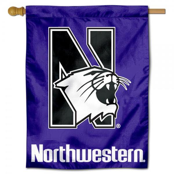 Northwestern Polyester House Flag
