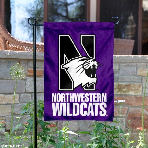 Northwestern Wildcats Garden Flag